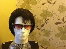 ELVIS  IMPERSONATOR PROFESSIONAL HUMAN HAIR NO LACE FRONT WIG FOR JUMPSUIT