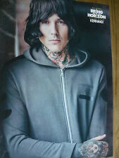 BRING ME THE HORIZON (OLI SYKES) - MAGAZINE CUTTING (FULL PAGE PHOTO) (REF 1T)