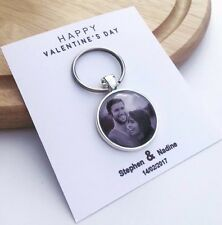 Valentine's Day Personalized Key chain Gift Photo Insert (PM IT TO US)