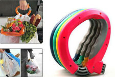 One Trip Grips Shopping Grocery Bag Holder Handle Carrier Lock Labor Saving Tool
