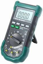 REGNO Unito MASTECH ms8268 Schermo LCD SOUND AC/DC AUTO/Manual Range Multimetro digitale