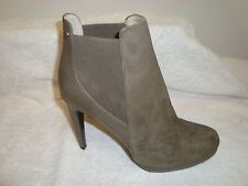 Calvin Klein Women's 'Britney' suede Leather Boots  taupe 7m