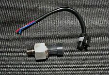 100 PSI Fuel/Oil/MAP/AIR Pressure Sensor Kit & Wiring Connector 1/8 NPT