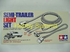 Tamiya 1/14 Tractor Truck  SEMI TRAILER LIGHT Set re MFC-01 Flatbed Pole # 56502