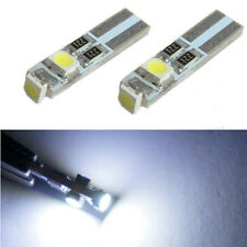Bright White 58 70 73 74 Dashboard Gauge T5-1210-3 SMD LED Wedge Bulb 10PCS