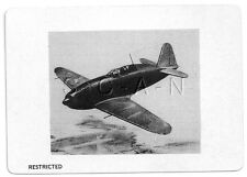 WWII Double Sided Recognition Photo Card- Japan- Fighter Plane- Jack- 1944