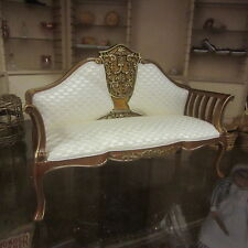 Dolls House Quarlity Furniture  Victorian Style Sofa   R0464