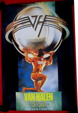 Van Halen 1986 UK GIANT double quad poster 5150 mint condition