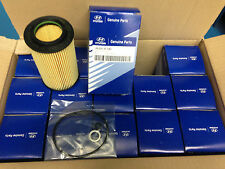 Lot of 15 : Hyundai Genuine OEM Oil filter kit # 263203C100  3.3L,3.8L Engines