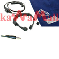 MIL. Throat mic 1Pin for Cobra Microtalk GMRS FRS Radio