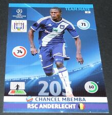CHANCEL MBEMBA ANDERLECHT BELGIË UEFA PANINI FOOTBALL CHAMPIONS LEAGUE 2014 2015