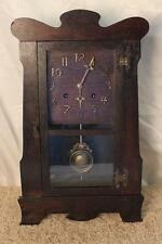 Antique New Haven Mission Oak ~ Arts and Crafts ~ Mantle Clock