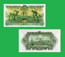 Ireland Currency 1 Pound 1934 Ploughman Note  UNC - Reproductions