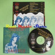 CD ANTONIUS REX Ralefun 1994 MELLOW RECORDS MMP 232 (Xs1) no lp mc dvd