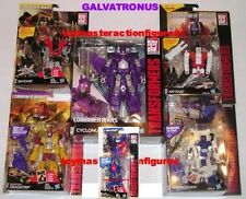 TRANSFORMERS COMBINER WARS GALVATRONUS Cyclonus + 4 Deluxe + Viper  IN STOCK