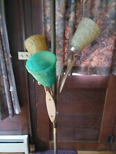 Vintage MOD 1960/70's Spaghetti Glass Pole Lamp