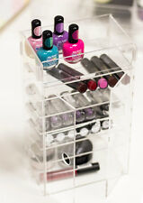 Acrylic Clear Lipstick Organizer Makeup Cosmetic Nail Eyeshadow Eyebrow Storage