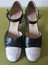 CHANEL CHAUSSURES BABIES BICOLORES 38 IT 39 F
