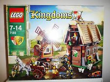 LEGO Kingdoms Mill Village Raid 7189 NEW Factory SEALED Rare Retired Set