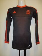 OLYMPIC MARSEILLE L/S PLAYER ISSUE 2012/13  TECHFIT 3RD SHIRT BY ADIDAS XL