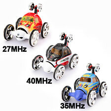 Mini RC Radio Remote Control 360° Wheelie Stunt Vehicle Micro Racing Car Toy New