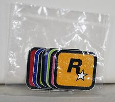 Grand Theft Auto V Rockstar Games Logo Sticker Set of 8 New Sealed Package 1.25""