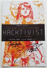 SIGNED COLLIN KELLY & JACKSON LANZING  Alyssa Milano's  HACKTIVIST Vol 2 Issue 3