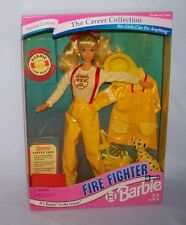 1994  Mattel Barbie Career Collection Fire Fighter Doll NRFB