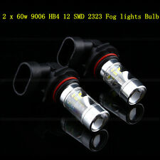 New 2x9006 HB4 Samsung 2323 SMD 60W LED High Power 6000K Fog Driving lights Bulb