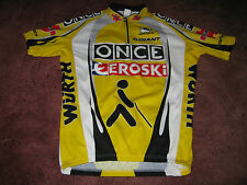ONCE EROSKI WURTH GIANT GIORDANA ITALIAN CYCLING JERSEY [XL-5-52]