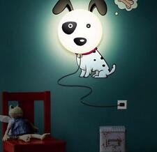 Dalmatians Dog Led Night Light  3D  Wall Sticker Lamp Kids' Bedroom Decoration