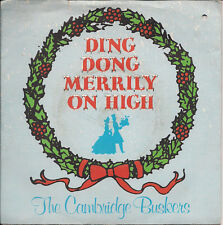"The Cambridge Buskers Ding Dong Merrily On High UK 45 7"" single +Picture Sleeve"