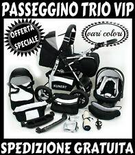 OFFERTA SPECIALE!trio VIP passeggino+navicella+ovetto!3 in 1!SPEDIZIONE GRATIS