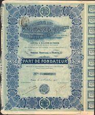 Mines & Fonderies de l'ARIEGE & HAUTE GARONNE (N)