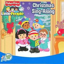 NEW!! Christmas Sing-Along CD  (2 DISC SET) FISHER PRICE Little People