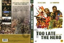 Too Late The Hero (1970) - Michael Caine, Cliff Robertson    DVD NEW