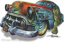 Hot Rod Monster Sticker Decal Artist Doug Horne H27