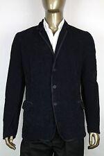 New Bottega Veneta Men's Navy Corduroy Blazer Jacket IT 54/US 44 309328 4014