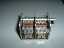 Variable Capacitor, 2 Gang, AM Radio, Ham Radio, New & Unused