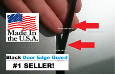 Door Edge TRIM  ((MADE IN THE USA!))  GLOSS BLACK DOOR EDGE GUARDS