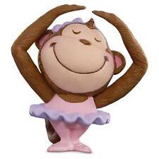 Hallmark 2016 Ballerina Monkey Merry Miniature Figurine