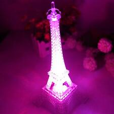 Eiffel Tower Night Light LED Lamp Desk Bedroom Small Lighting