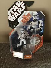 Hasbro 2007 30th Anniversary Star Wars Saga Legends Clone Trooper Factory Sealed