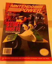 POSTER TRADING CARDS INTACT Nintendo Power Magazine Volume Issue 63 August 1994