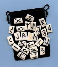 Bone Runes Set  w/pouch ~Divination