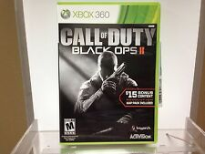 ** Call of Duty Black Ops 2 ~ Xbox 360 ~ With Digital Codes