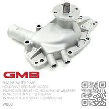 GMB WATER PUMP 253 4.2L & 308 5.0L V8 RED/BLUE MOTOR [HOLDEN VB-VC COMMODORE]