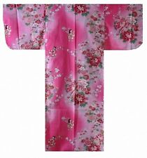 "DM-SYC954-02S-PI YUKATA with Obi 25""-30""-35"" JAPAN Kids Girl's"