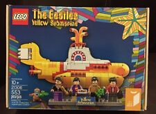 New LEGO Ideas The Beatles Yellow Submarine 21306 553 pcs