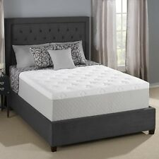 Serta Cool Gel Memory Foam Mattress King Size Bed Bedroom Furniture Motionless